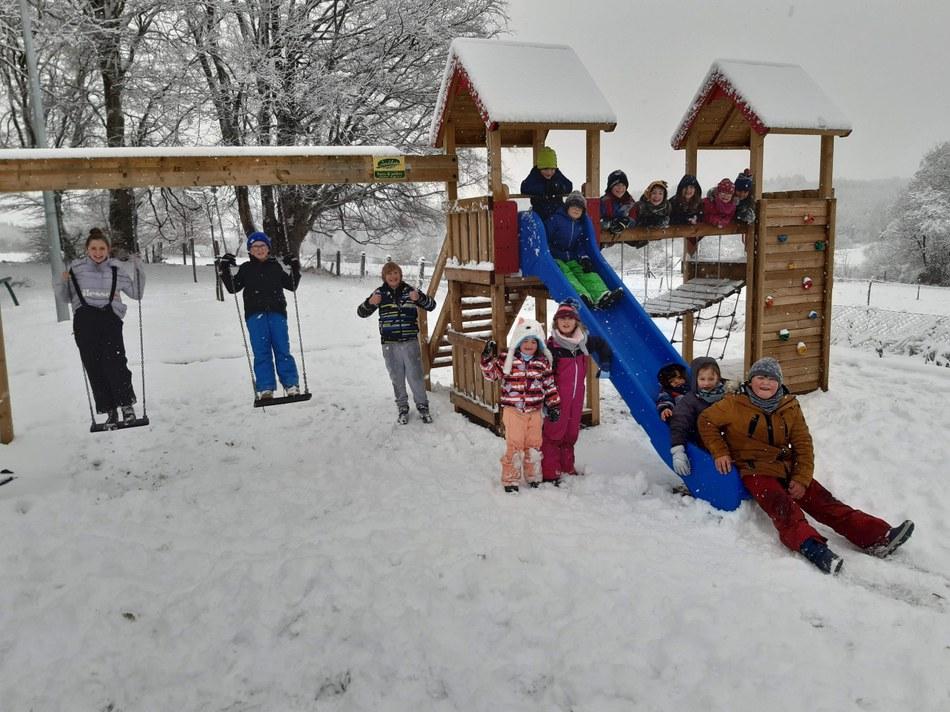 Champs plaisir neige 1